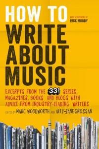 Pisanje o glasbi